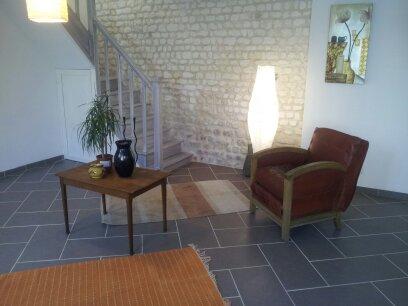 Photo interieur maison pierre for Renovation interieur maison ancienne