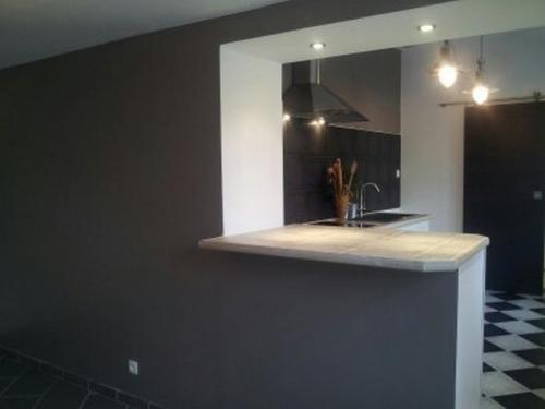 Pin renovation maison style 5 on pinterest - Ouverture mur cuisine salon ...